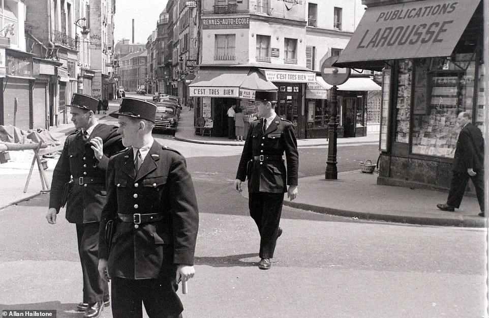 آثار زیرخاکی یک عکاس فرانسوی از پاریس دهه ۵۰+تصاویر