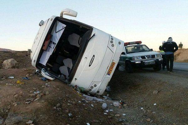 سانحه رانندگی سرویس حمل و نقل دانش آموزان