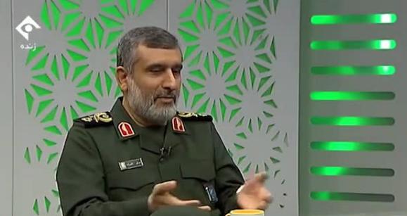 اینستاگرام صحبتهای سردار حاجیزاده درباره ناوهای آمریکایی را حذف کرد