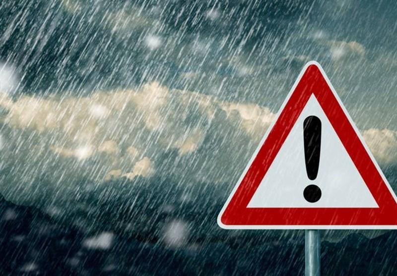 سازمان هواشناسی نسبت به وقوع سیل و تگرگ هشدار داد/