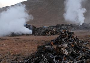 شناسایی و تخریب دو کوره غیرمجاز زغال در لردگان