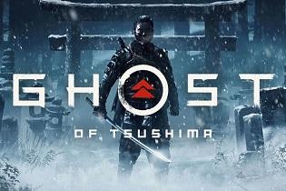 طراحی خارق العاده عنوان Ghost of Tsushima