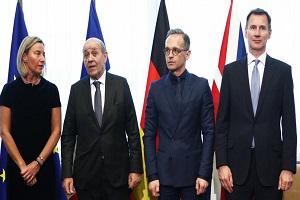 الجزیره: پمپئو در سفر به بروکسل به اهدافش درباره ایران نرسید