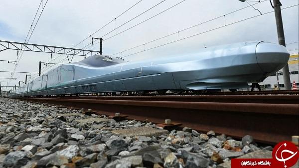 آزمایش سریعترین قطار جهان در ژاپن +عکس