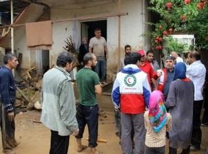اهدای بیش از ۱۰ میلیارد ریال کمکهای نقدی و غیر نقدی به سیل زدگان/ تداوم کمکها به سیل زدگان
