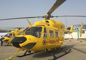 پرواز بالگرد فوریتهای پزشکی اورژانس یزد به ایستگاه چهارم رسید