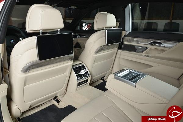 تکامل زیبایی و قدرت در خودرو 2020 BMW 730Li +تصاویر