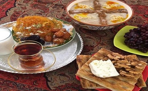 آداب و رسوم مردم سمنان در ماه مبارک رمضان