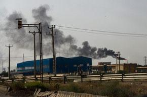 مشاهده دود و آتش بر فراز پالایشگاه تبریز نگران کننده نیست