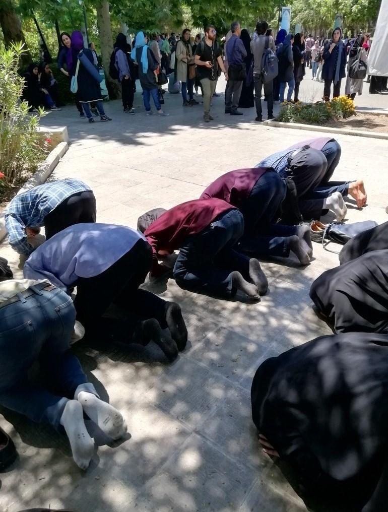 روایت یک شاهد عینی از حقیقت ماجرای تجمع در دانشگاه تهران + تصاویر