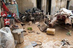 برآورد خسارت سیل به منازل روستایی خوزستان رو به افزایش است