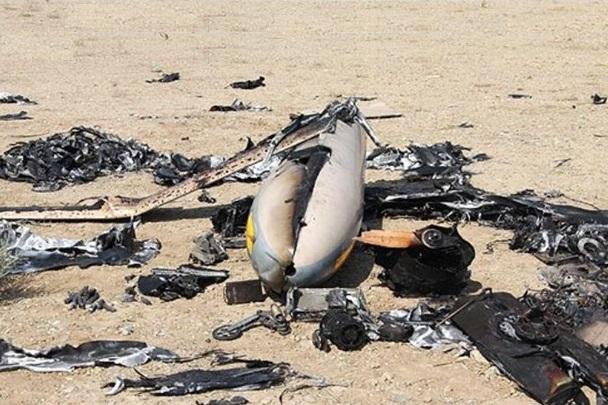 سرنگونی هواپیمای جاسوسی سعودی توسط پدافند هوایی یمن