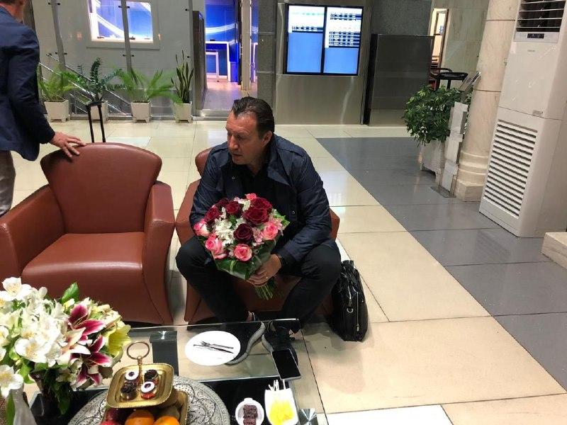 سرمربی جدید تیم ملی فوتبال کشورمان وارد تهران شد