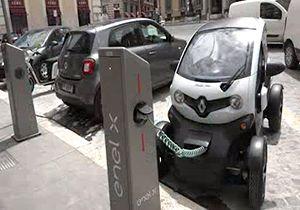 تسهیلات ویژه دولت ایتالیا برای صاحبان خودروهای برقی/ جنگ با آلودگی هوا با خودروهای سوخت پاک + فیلم
