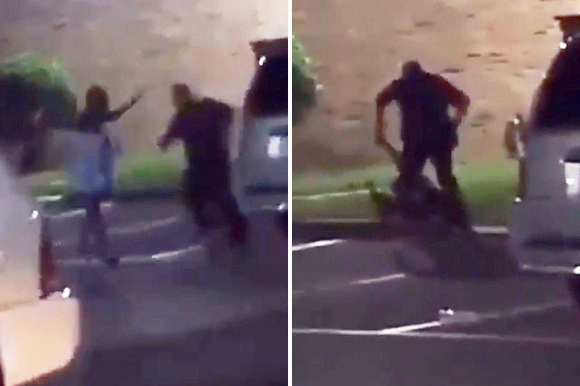 زنی که فریاد میزد «باردار هستم» به ضرب گلوله پلیس آمریکا کشته شد