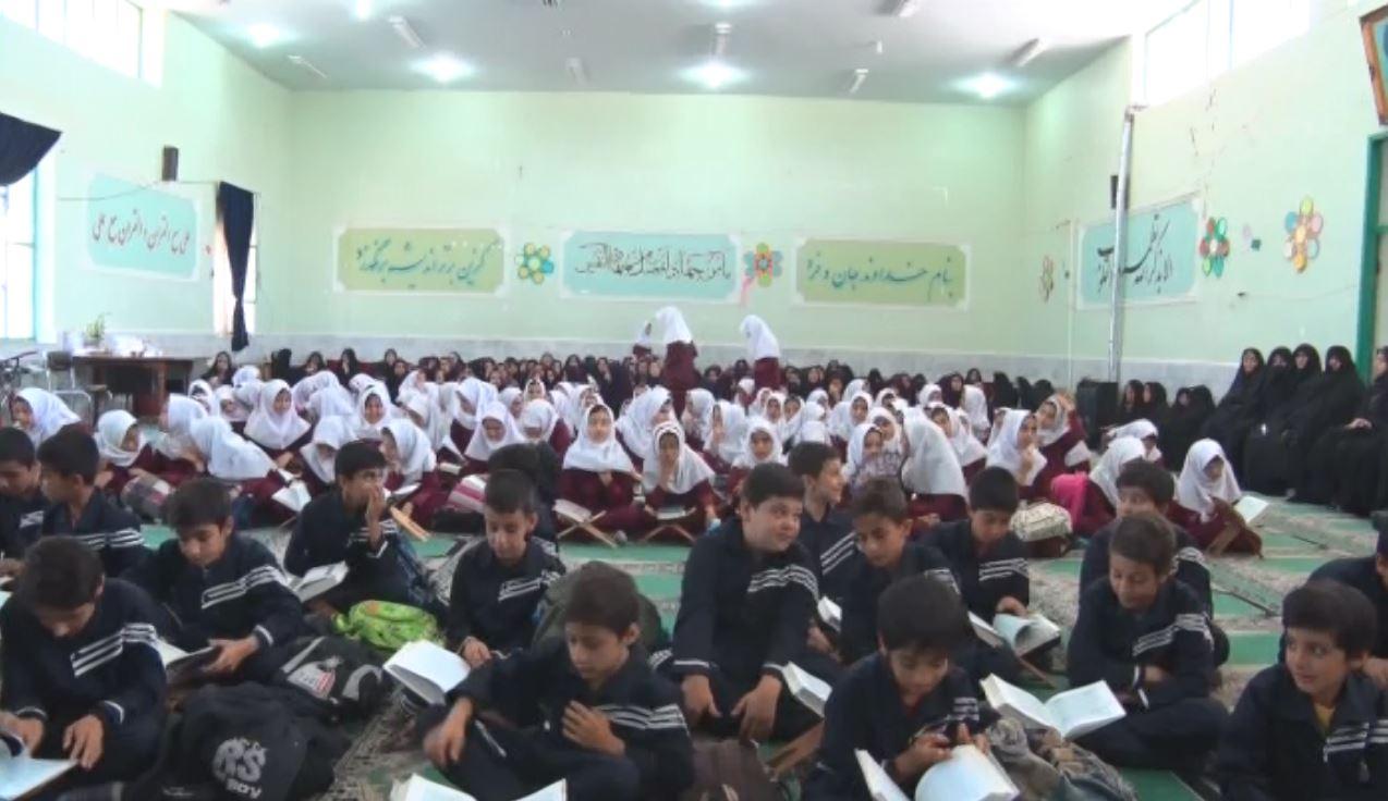 محفل بزرگ انس با قرآن در زرندیه