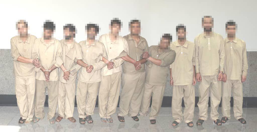 دستگیری زنجیرهای سارقین و خریداران اموال مسروقه در یک پرونده
