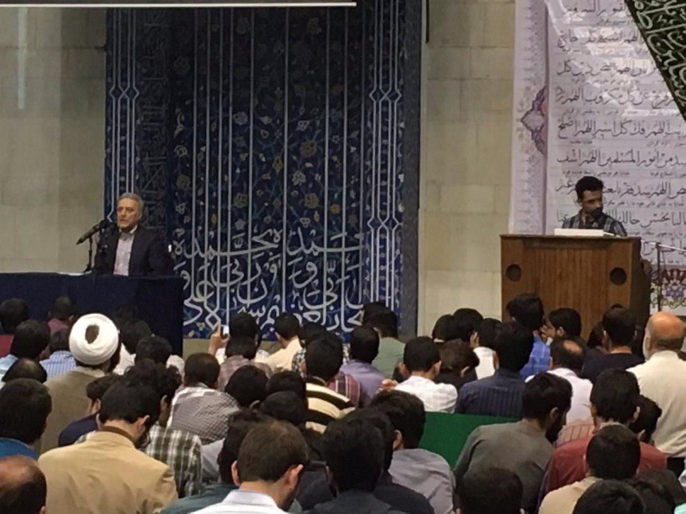 جلسه ریاست دانشگاه تهران با دانشجویان برگزار شد
