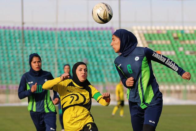 در حال تکمیل////برنامه هفته شانزدهم لیگ برتر فوتبال بانوان