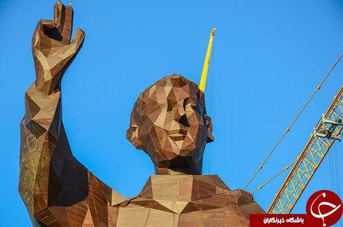 ساخت بلتدترین مجسمه از بامبو در فیلیپین+تصاویر