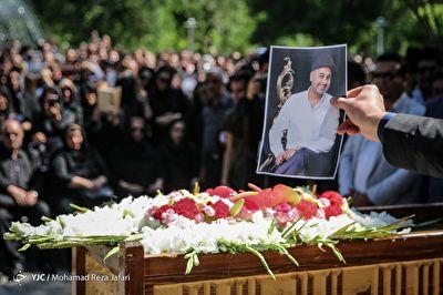 بدرقه پسر مودب موسیقی ایران به سوی خانه ابدی + فیلم
