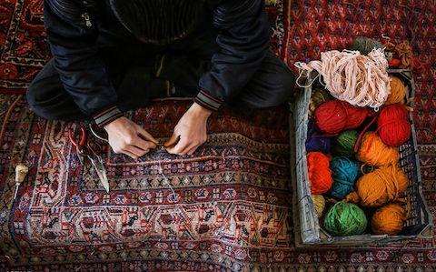 آموزش فرش دستباف در گیلان