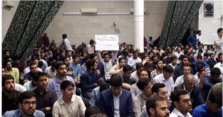 توضیحات نیلی احمدآبادی درباره التهابات ٢٣ اردیبهشت در دانشگاه تهران +تصاویر