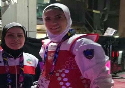 پلنگ افکن نایب قهرمان المپیک را شکست داد / خدابنده در روز نخست مسابقات حذف شد