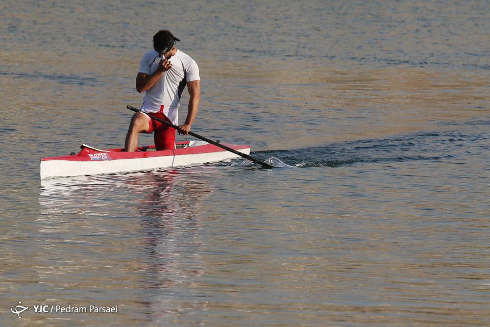 رقابتها پیش روی قایقرانی برای کسب سهمیه المپیک ۲۰۲۰