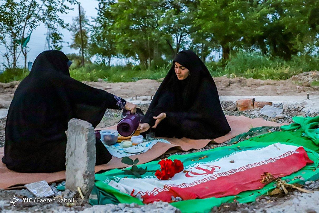 اولین افطار؛ مهمان شهید مدافع حرم