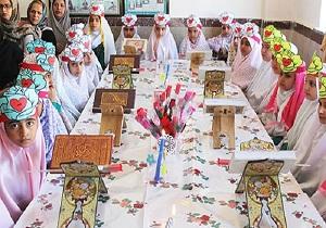 جشن یادگیری قرآن در مدارس ابتدایی شهرستان کامیاران برگزار شد