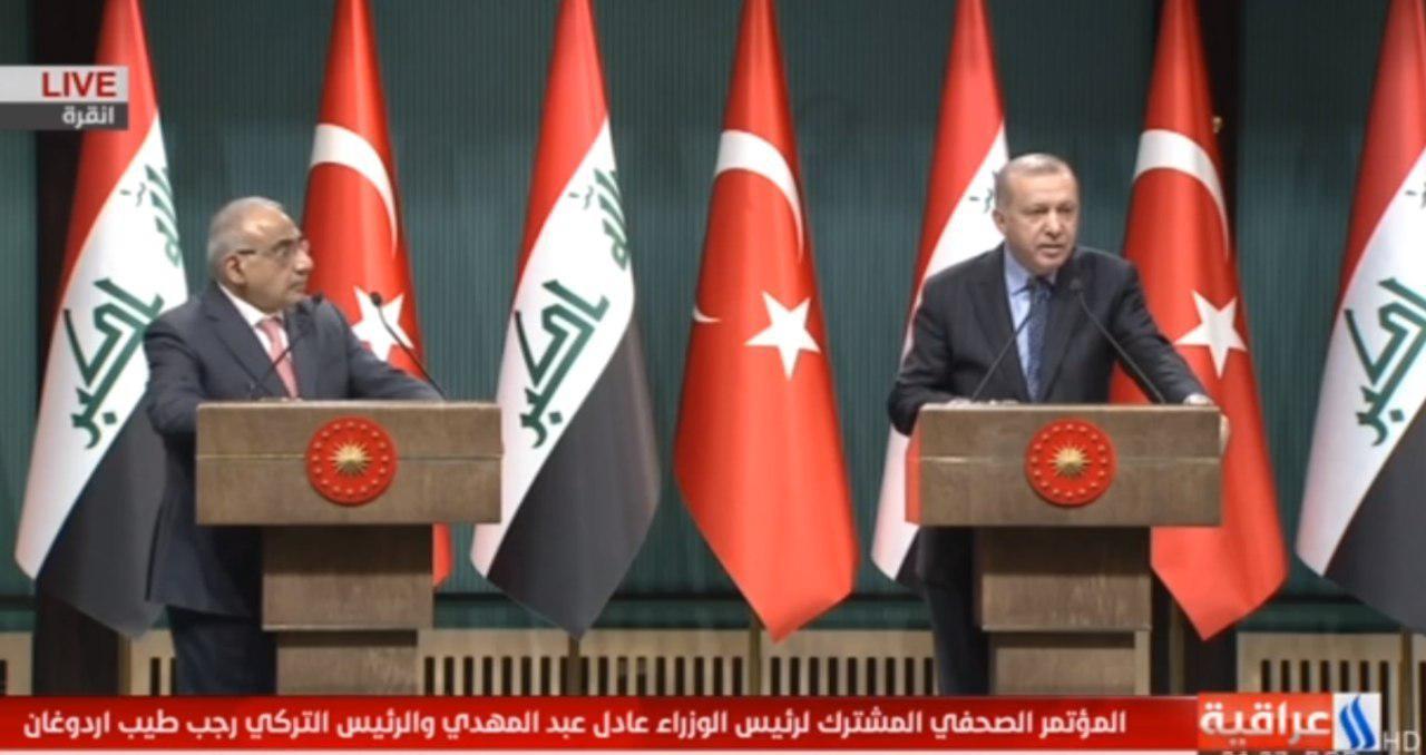 تاکید مقامات ارشد عراق و ترکیه بر گسترش روابط