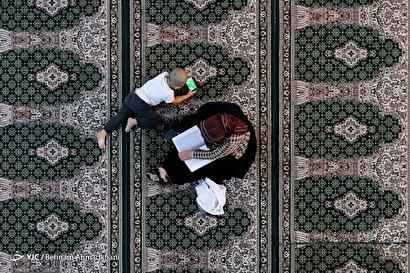 محفل اُنس با قرآن در حرم سیدالکریم(ع)