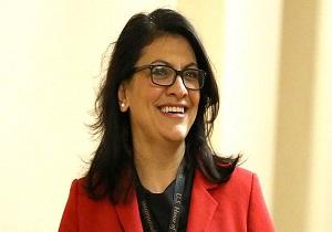 برای اولین بار یک زن مسلمان رئیس مجلس نمایندگان آمریکا شد