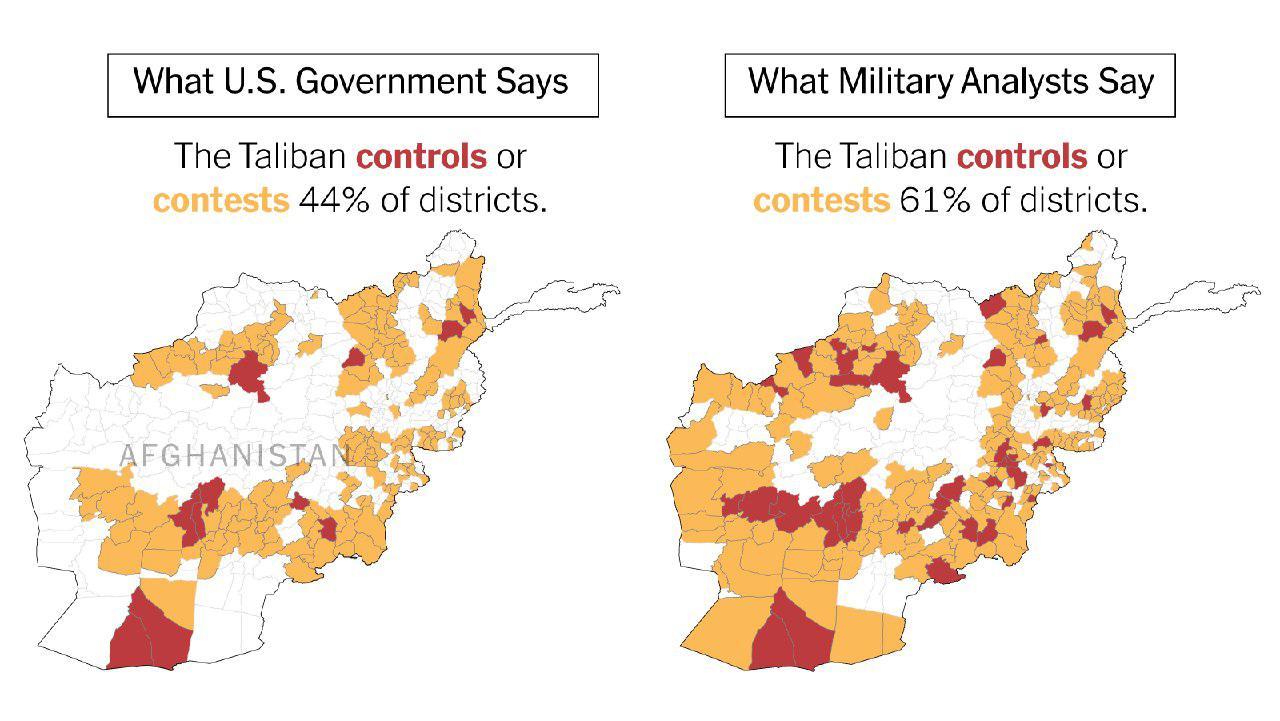 نیویورک تایمز: آمریکا اخبار جعلی درباره جنگ افغانستان منتشر می کند