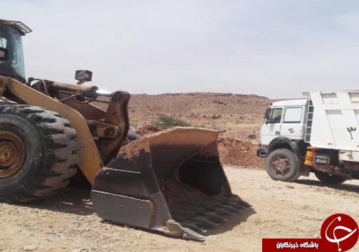 توقیف ۹ دستگاه حفاری و خودروی برداشت غیرمجاز/پلمب یک حلقه چاه غیرمجاز در فارس