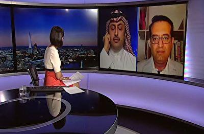 ناک اوت شدن کارشناس سعودی در آنتن زنده بی بی سی فارسی + فیلم