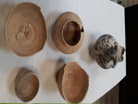 کشف اشیای عتیقه ۴ هزار ساله