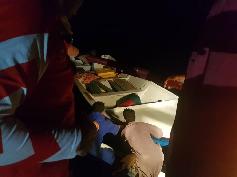 نجات جان ۵ صیاد در دو عملیات جستجو و نجات دریایی در وضعیت بد جوی
