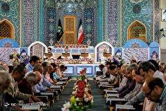 باشگاه خبرنگاران - محفل اُنس با قرآن در حرم سیدالکریم(ع)