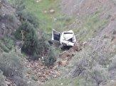 باشگاه خبرنگاران -سقوط خودروی سواری به دره در جیرنده رودبار