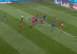 اولین گل استقلال به سپیدرود در ۲۶ اردیبهشت ۹۸ + فیلم