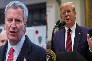 شهردار نیویورک پس از اعلام نامزدی: ترامپ فریبکار است