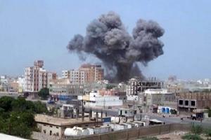 حمله موشکی متجاوزان سعودی به جنوب الحدیده