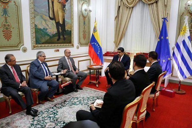 گروه بینالمللی تماس با مادورو دیدار کرد