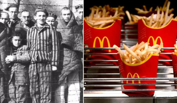 بزرگترین تضاد تاریخ غذا در جهان / ارتباط نازیها و آشویتس با مک دونالد چیست؟