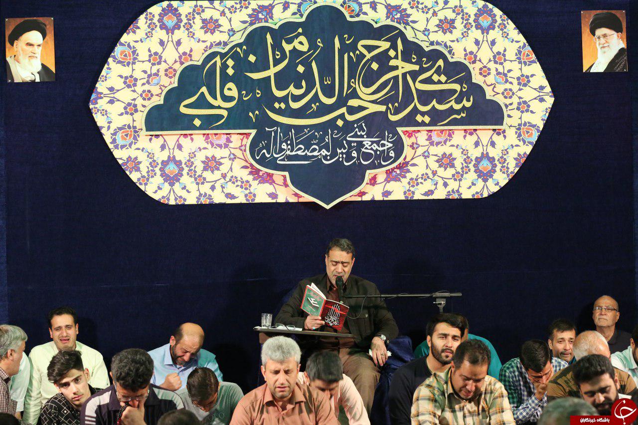 سید الکریم (ع) در شب زیارتی امام حسین (ع)، عاشقان را کربلایی کرد