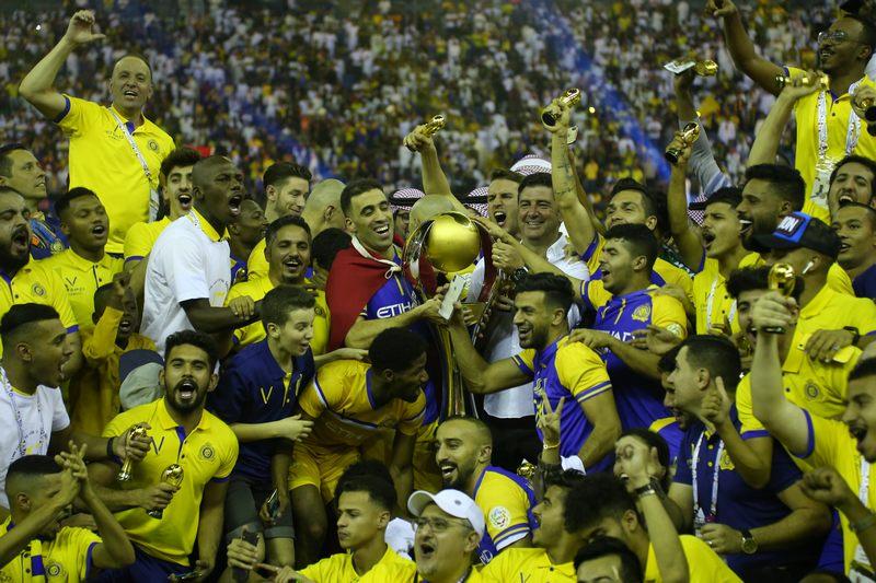 النصر قهرمان لیگ حرفه ای عربستان شد