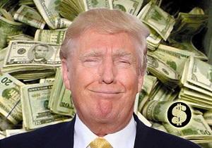 درآمد ۴۳۴ میلیون دلاری ترامپ در سال ۲۰۱۸