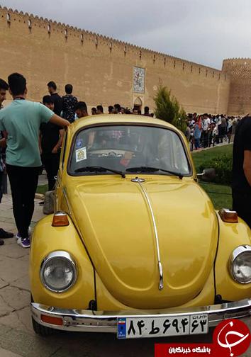 هفتمین گردهمایی روز فولکس واگن در شیراز